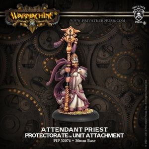 Protectorate of Menoth Attendant Priest (PIP 32074)