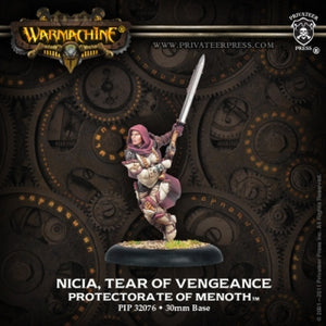 Protectorate of Menoth Solo Nicia Tear of Vengeance (PIP 32076)
