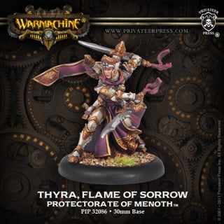 Protectorate of Menoth Warcaster Thyra, Flame of Sorrow (PIP 32086)