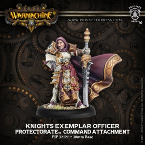 Protectorate of Menoth Knights Exemplar Officer (PIP 32121)