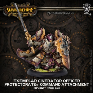 Protectorate of Menoth Exemplar Cinerator Officer (PIP 32129)