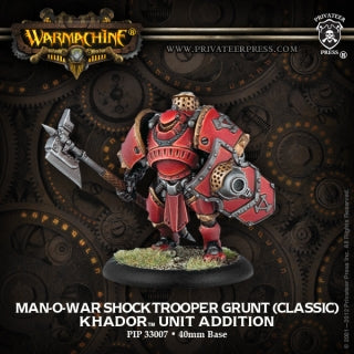 Khador Man O War Shocktrooper (1) (PIP 33007)