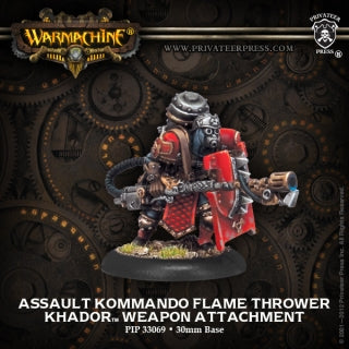 Khador Assault Kommando Flame Thrower (PIP 33069)