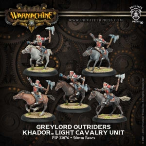 Khador Greylord Cavalry Outriders (5) (PIP 33076)