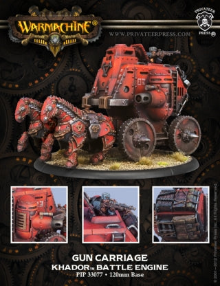 Khador Gun Carriage Battle Engine (PIP 33077)