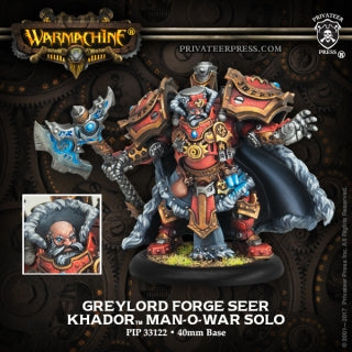Khador Solo Man Of War Greylord Forge Seer (PIP 33122)