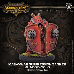 Khador Solo Man O War Suppression Tanker (PIP 33131)