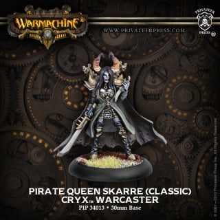 Cryx Pirate Queen Skarre (PIP 34013)