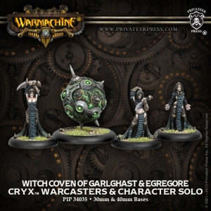 Cryx Witch Coven & Egrogore (4) (PIP 34035)