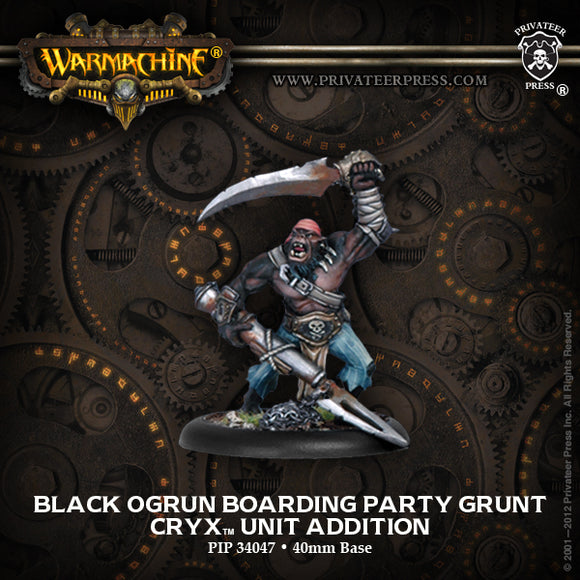 Cryx Black Orgun Boarding Pirate (PIP 34047)