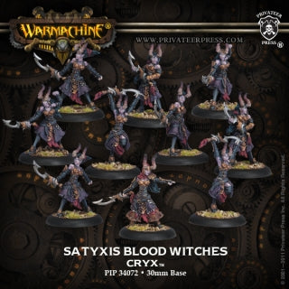 Cryx Satyxis Blood Witches (10) (PIP 34072)