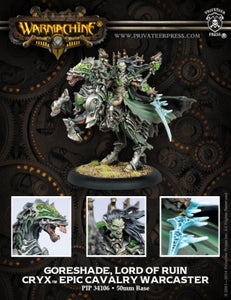Cryx Epic Cavalry Warcaster Goreshade, Lord of Ruin (PIP 34106)