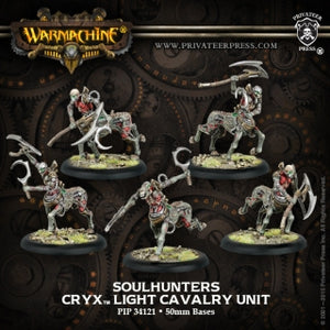 Cryx Cavalry Soulhunters (5) (PIP 34121)