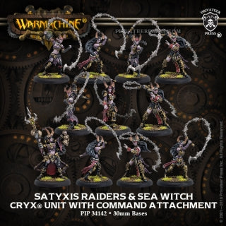 Cryx Satyxis Raiders & Sea Witch (11) (PIP 34142)