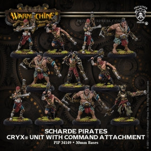 Cryx Unit Scharde Pirates (11) (PIP 34149)