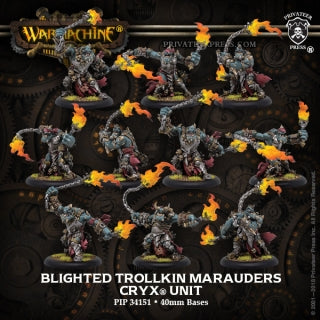 Cryx Unit Blighted Trolkin Marauders (10) (PIP 34151)