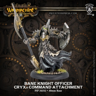 Cryx Bane Knight Officer (PIP 34152)