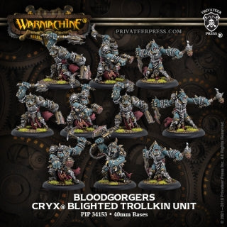 Cryx Unit Blood Gorgers (10) (PIP 34153)