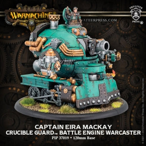 Crucible Guard Battle Engine Warcaster Captain Eira Mackay (PIP 37019)