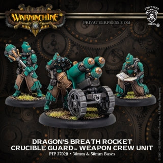 Crucible Guard Rocket Weapon Crew Dragons Breath (PIP 37020)