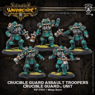 Crucible Guard Assault Troopers (5) (PIP 37021)