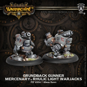 Mercenary Grundback Gunners Light Warjack (2) (PIP 41016)