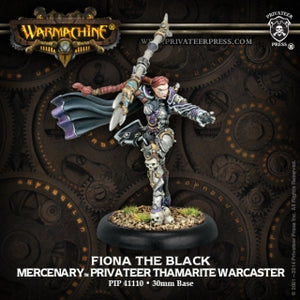 Mercenary Fiona the Black Warcaster (PIP 41110)