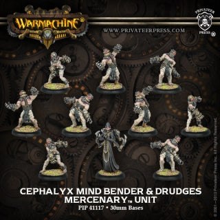 Mercenary Cephalyx Mind Bender & Drudges (10) (PIP 41117)