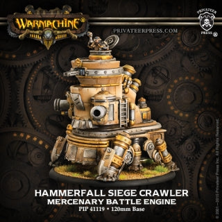 Mercenary Hammerfall Battle Engine Seige Crawler (PIP 41119)