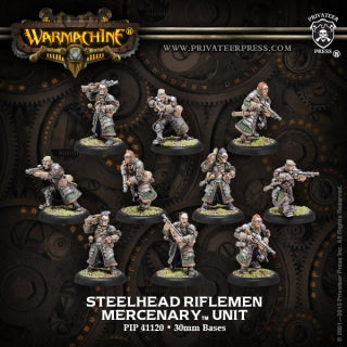 Mercenary Steelhead Halberdiers or Riflemen (10) (PIP 41120)
