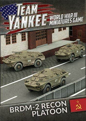 Team Yankee Soviet and East German BRDM-2 Recon Platoon (TSBX10)