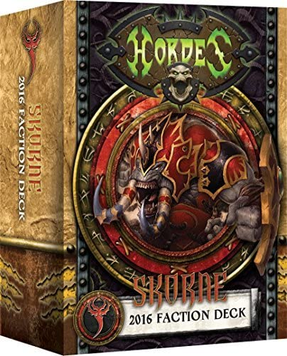 Skorne 2016 Faction Deck (PIP 91113)
