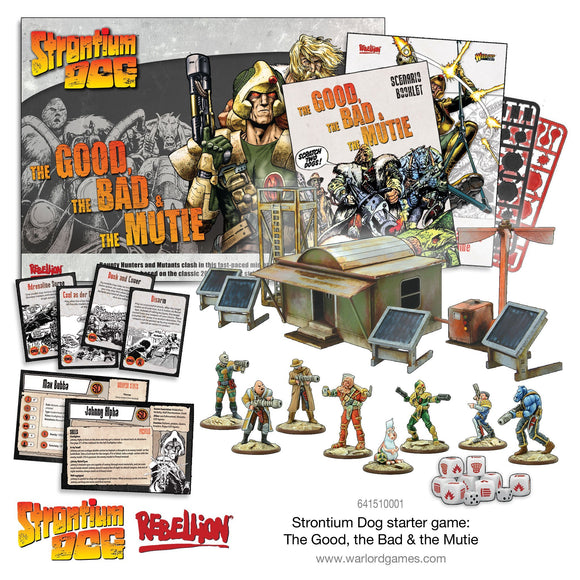 2000AD Strontium Dog The Good the Bad and the Mutie Starter Set