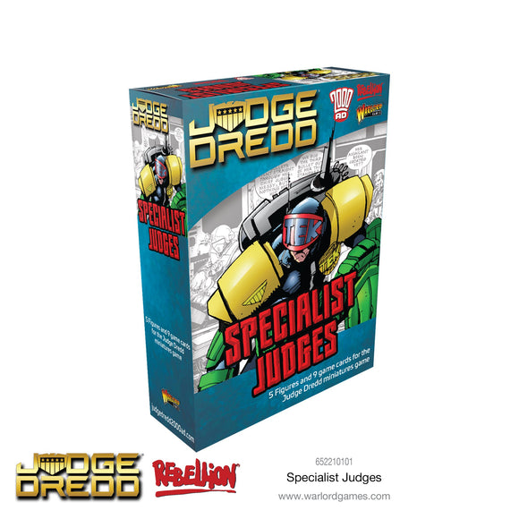 2000AD Judge Dredd Specialist Judges