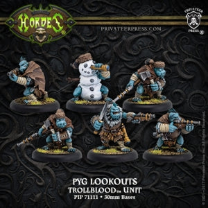 Trollblood Pyg Lookouts (6) (PIP 71111)