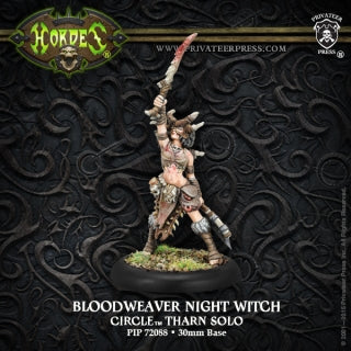 Circle Orboros Tharn Bloodweaver Night Witch (PIP 72088)