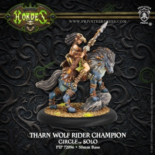 Circle Orboros Solo Tharn Wolf Rider Champion (PIP 72096)
