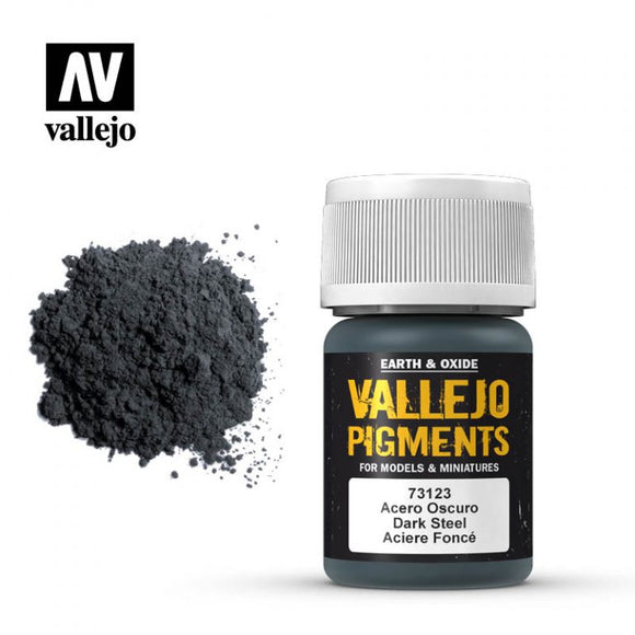 Vallejo Pigment Faded Dark Steel 73.123