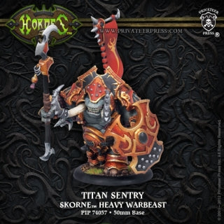Skorne Heavy Warbeast Titan Cannoneer Or Titan Gladiator Or Titan Sentry (1) (PIP 74057)