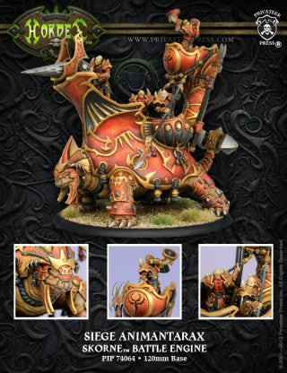 Skorne  Battle Engine Siege Animantarax (PIP 74064)