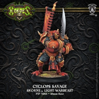 Skorne Light Warbeast Cyclops Savage (PIP 74068)