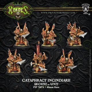 Skorne Cataphract Incindiarii (6) (PIP 74074)