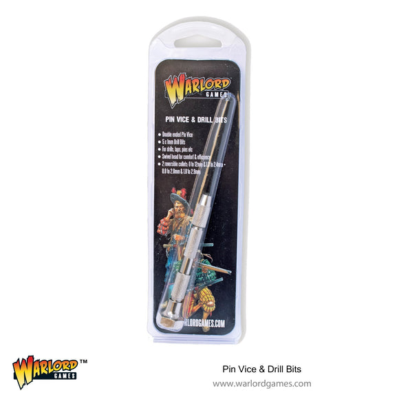 Warlord Tools Pin Vice and Drill Bits