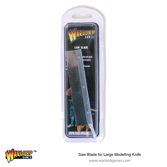 Warlord Tools Saw Blade for Large Modelling Knife (42 TPI)