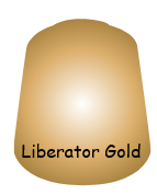 Liberator Gold Layer Paint