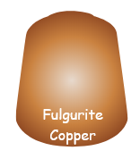 Fulgurite Copper Layer Paint