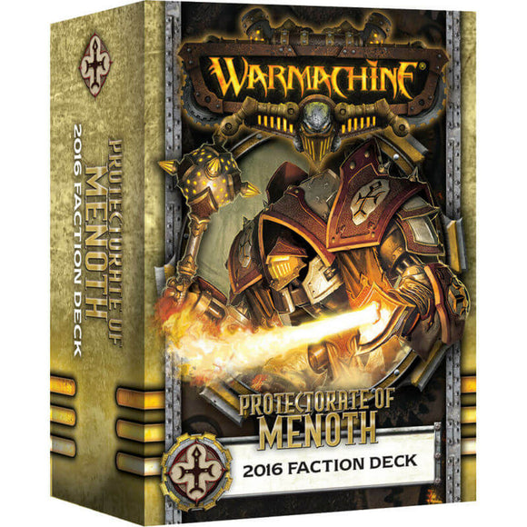 Protectorate of Menoth 2016 Faction Deck (PIP 91104)