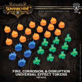 Universal Effect Tokens: Fire, Corrosion, Disruption (PIP 91122)