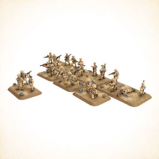 Flames of War Mid War British Motor Platoon (BR753)