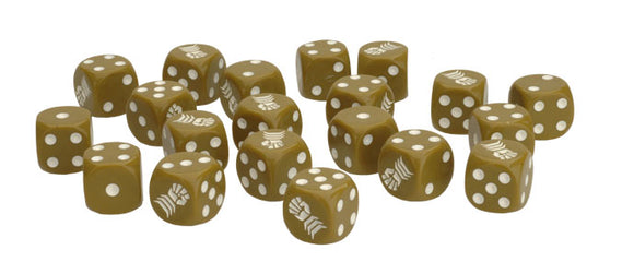 Flames of War Mid War British Armoured Fist Dice (BR902)